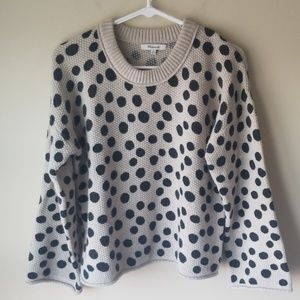 Madewell Dotted Crewneck Sweater